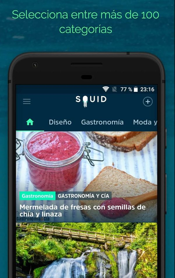 SQUID, la app que filtra las noticias que te interesan