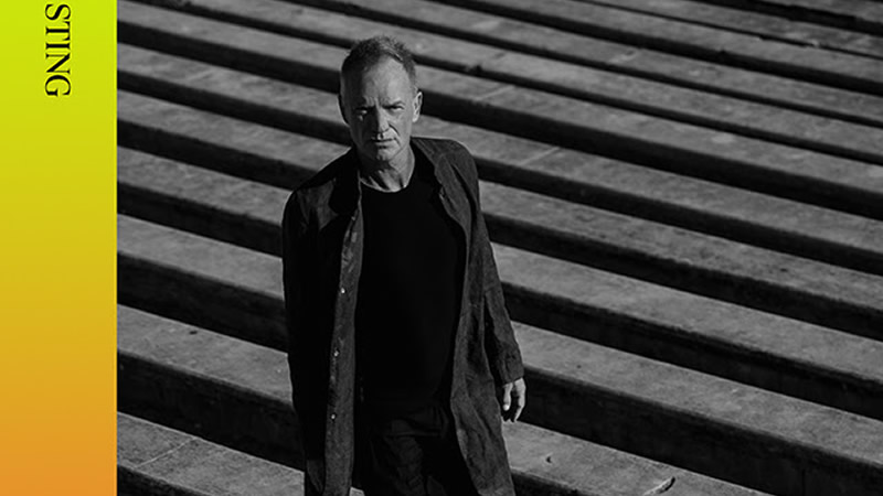 Sting lanza la nueva canción 'Rushing Water', de su próximo álbum 'The Bridge'