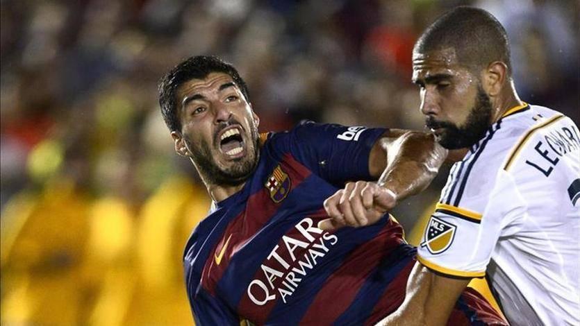 El Barça y el 'caníbal' Suárez siguen con hambre de gol y títulos: debut victorioso ante Los Angeles Galaxy (1-2)