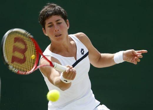 Wimbledon: gran petardo de Carla Suárez, a la espera de Nadal