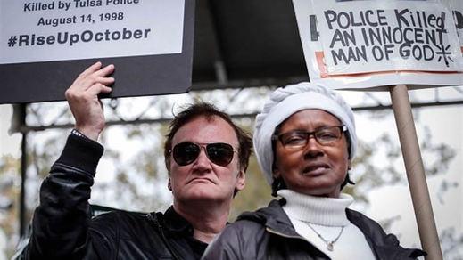 Tarantino, víctima de un boicot a nivel nacional por manifestarse en contra de la violencia policial