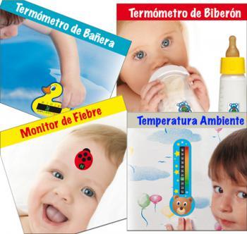 Termómetros de cristal liquido para publicidad ¡Sin mercurio!