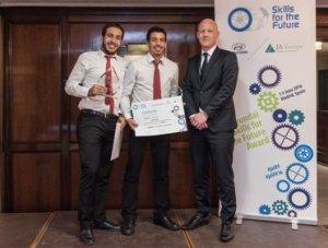 Dos jóvenes españoles ganan la competición Skills for the future