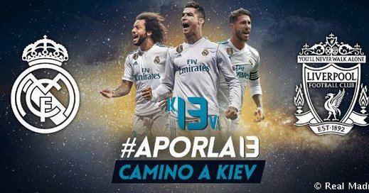 A qué hora es la final de la Champions y dónde la ponen: Real Madrid-Liverpool