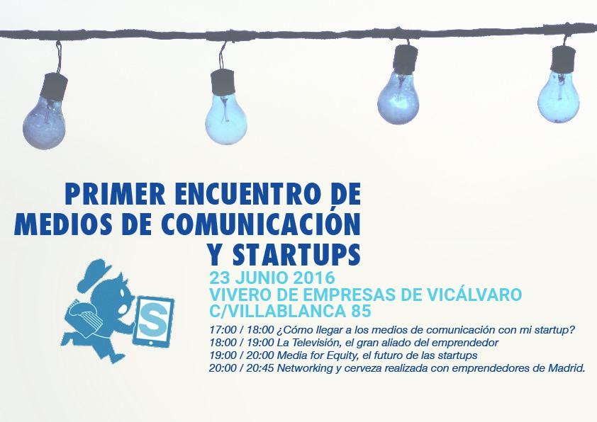 El «I Encuentro de medios de comunicación y startups» congrega a los principales especialistas en Media for Equity de las televisiones españolas