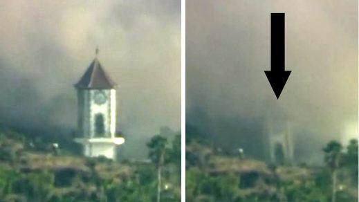 Volcán de La Palma: la lava arruina la localidad de Todoque