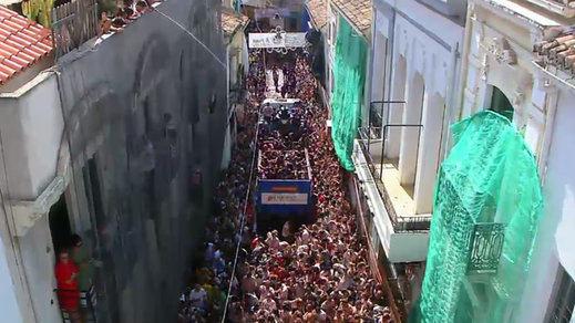 Tomatina de Buñol: se celebró otro año más la popular fiesta de Interés Turístico Internacional