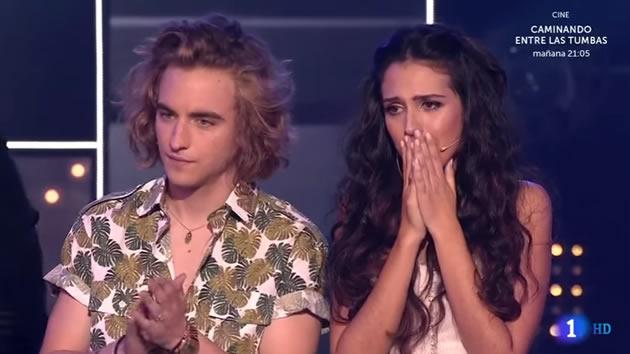 Eurovisión: Polémica, acusaciones de tongo y muy malas maneras en la final entre Manel Navarro y Mirela