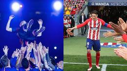 Iniesta y Torres se despiden con todos los honores antes sus aficiones