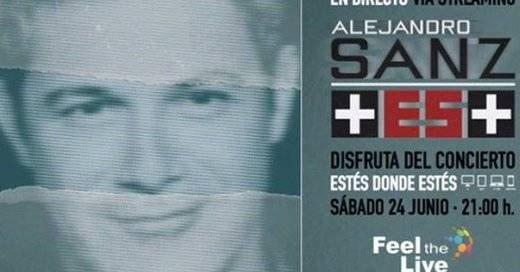 La retransmisión por Internet del concierto de Alejandro Sanz, un caos