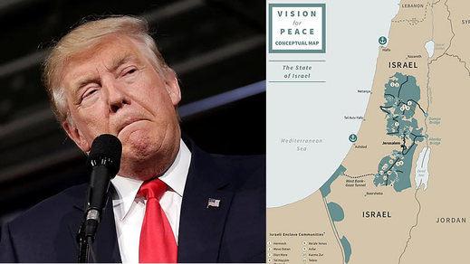 El plan de Trump para crear el Estado palestino fracasa antes de comenzar