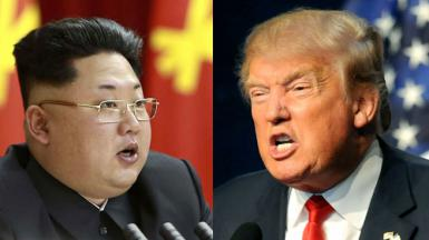 Trump aporrea sus tambores de guerra: responde a las amenazas de Corea del Norte y pide ayuda a China