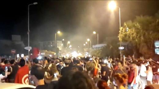 Las protestas en Túnez