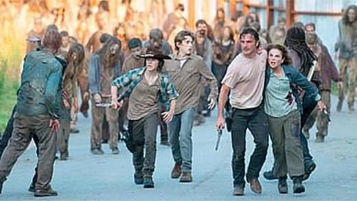 'The Walking Dead' llega a su descanso invernal de la sexta temporada sin Alexandría y con nuevo malo malísimo: Negan