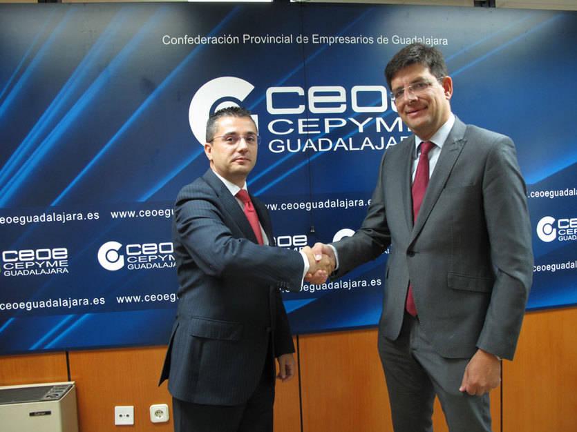 Los estudiantes de la Universidad de Alcalá podrán hacer prácticas en empresas de Guadalajara