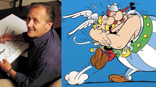 Fallece el creador de Astérix, el dibujante francés Albert Uderzo; tenía 92 años