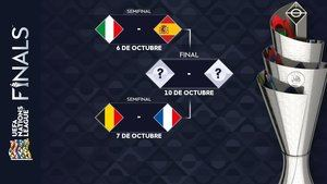 España jugará contra Italia en las semifinales de la Liga de Naciones de la UEFA