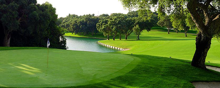 Hoyo 10 del campo de golf de Valderrama