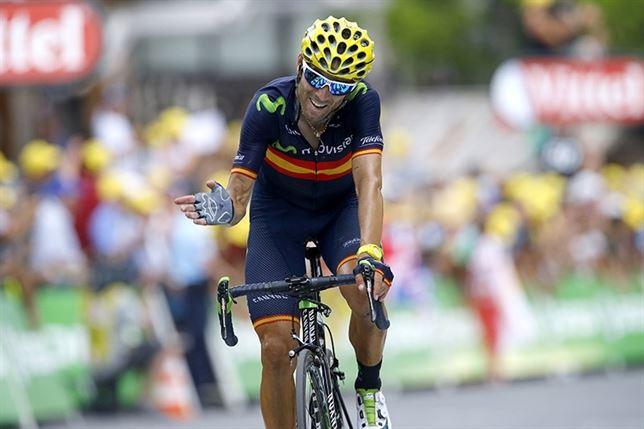 Vuelta a España: Valverde gana la etapa y evita el doblete de Sagan