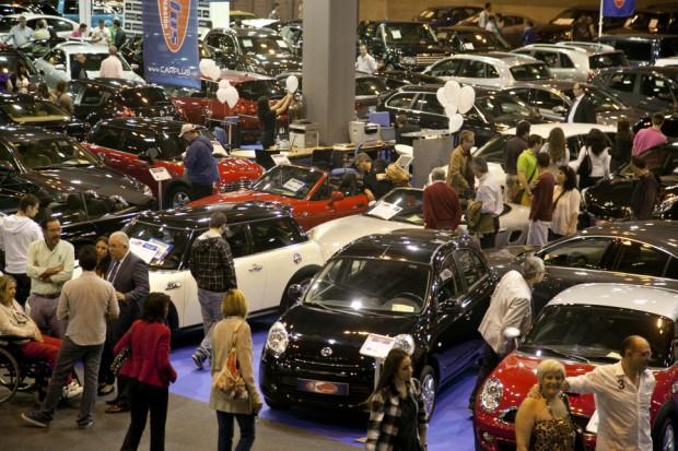 Los más de 4.000 coches del Salón del Vehículo de Ocasión de IFEMA están siendo revisados