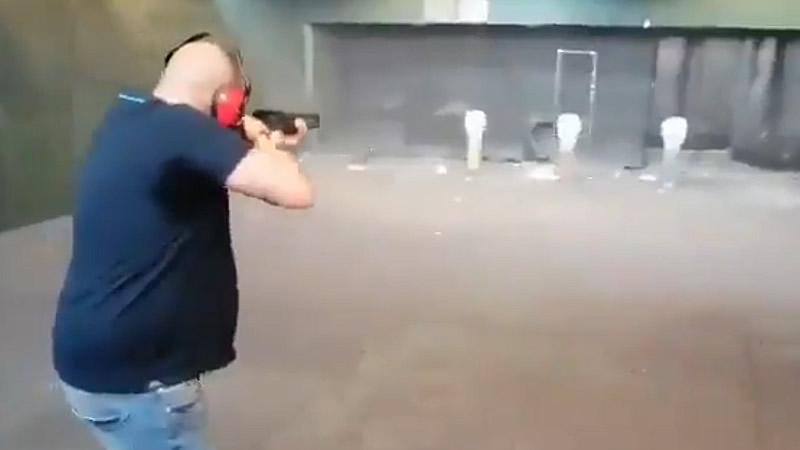 El vídeo que estremece a la izquierda: tiroteos a Pablo Iglesias, Sánchez, Marlaska...