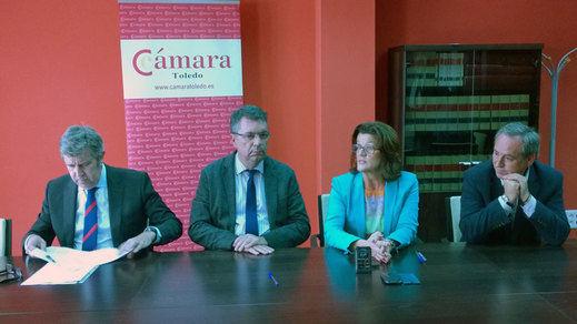 La Cámara de Toledo abre en Bargas su cuarto vivero de empresas de la provincia