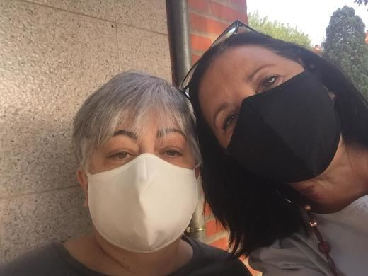 Gamma Health equipa con sus mascarillas anticovid a los voluntarios de la Asociación Activos y Felices