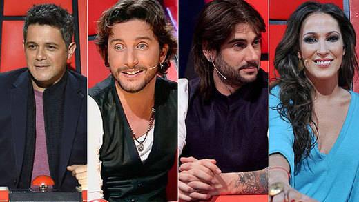 'La Voz' cambia de 'coaches': Melendi por Laura Pausini y Manuel Carrasco por Antonio Orozco; seguirán Alejandro Sanz y Malú