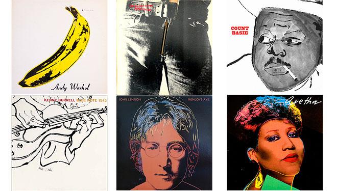 Andy Warhol, a través de sus portadas de discos más icónicas