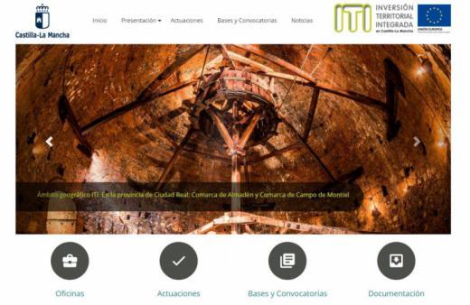 El Gobierno regional pone en marcha una web con información sobre la Inversión Territorial Integrada (ITI)