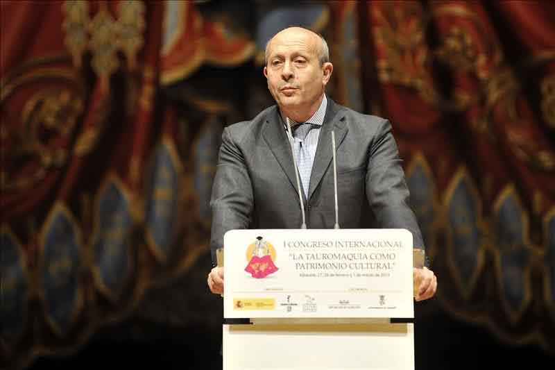 El ministro de Cultura, en el Congreso Taurino celebrado en Albacete