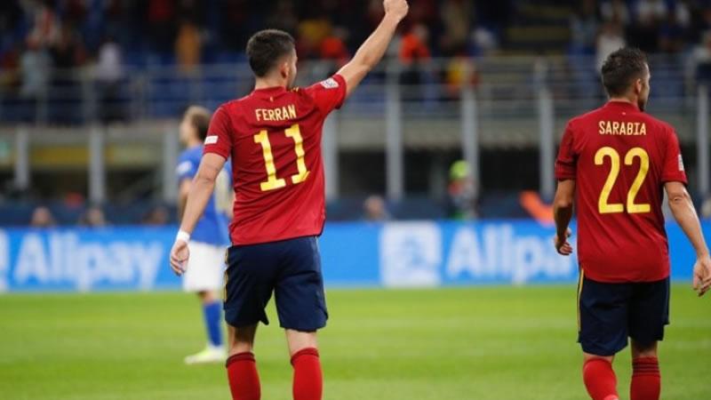 España, a la finalísima de la Liga de Naciones (1-2)