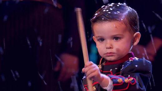 Hugo Molina, el niño de 3 años que batió récords ganando 'Got Talent España'