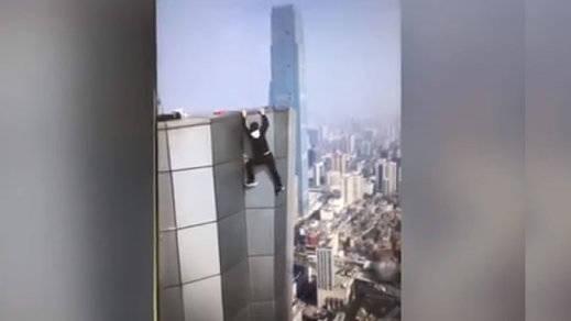 Este famoso youtuber chino grabó su muerte en directo, cayendo de un rascacielos