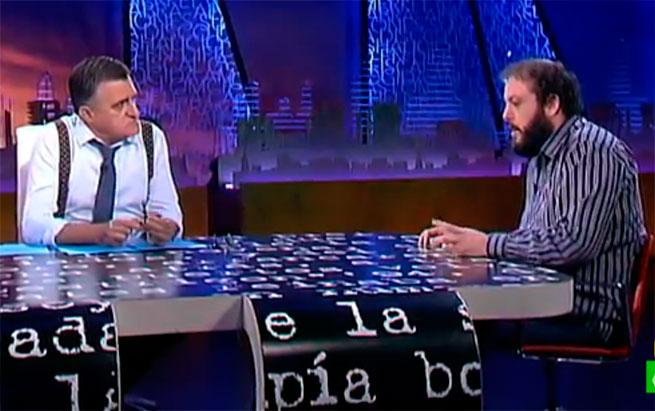 Zapata en El Intermedio: 'Me preocupaba venir a un programa de humor'