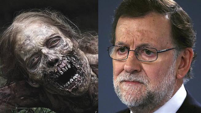 ¿Qué tiene preparado Rajoy ante un apocalipsis zombi?: la pregunta-protesta de Compromís