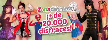Inauguración de la tienda online Zonadisfraces especializada en disfraces Originales