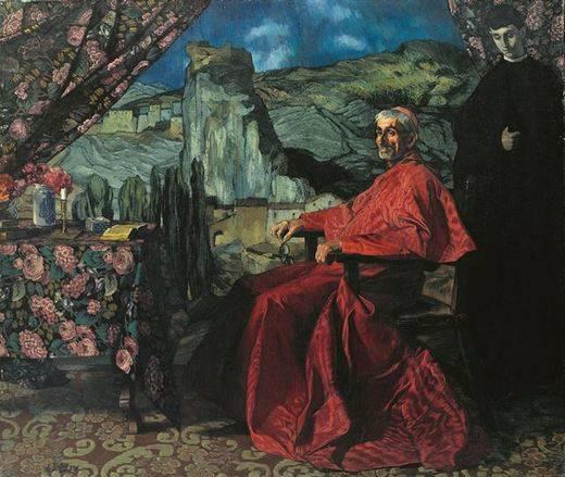 El Museo del Greco expondrá 'El Cardenal' de Zuloaga a partir del 2 de julio