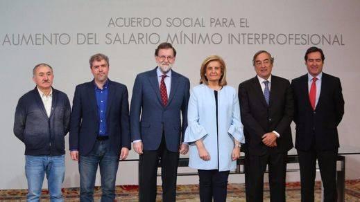 ¿El gran engaño?: la subida del salario mínimo no se aplicará a partir de 2018 según las previsiones del Banco de España