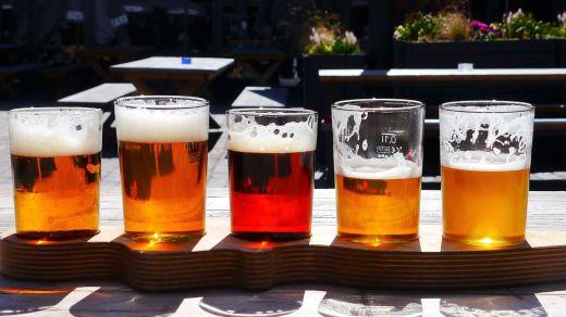 Principales tipos de cerveza: ale, pilsen, lager, de trigo, arroz...
