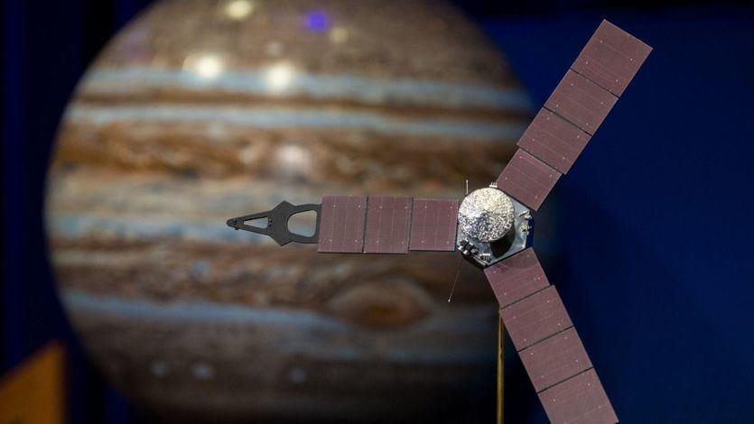 Cohete propulsado por energía solar listo para viajar a Júpiter