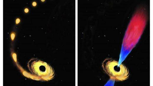 Así funciona un agujero negro