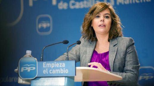 Soraya Sáenz de Santamaría, embarazada de tres meses