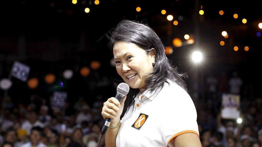 Keiko Fujimori en un acto