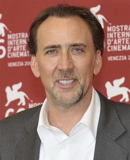 Nicolas Cage en el Festival de Venecia.
