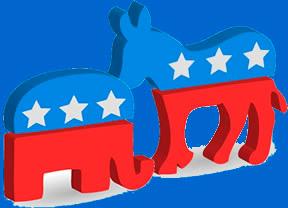 El burro demócrata y el elefante republicano: la historia de los dos símbolos