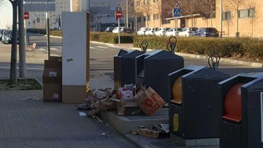 Ratas y malas comunicaciones los problemas en el Ensanche de Alcorcón
