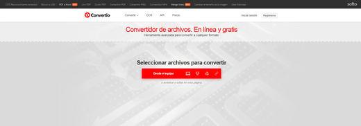 Convertio, nuevo servicio online gratuito de conversión entre formatos
