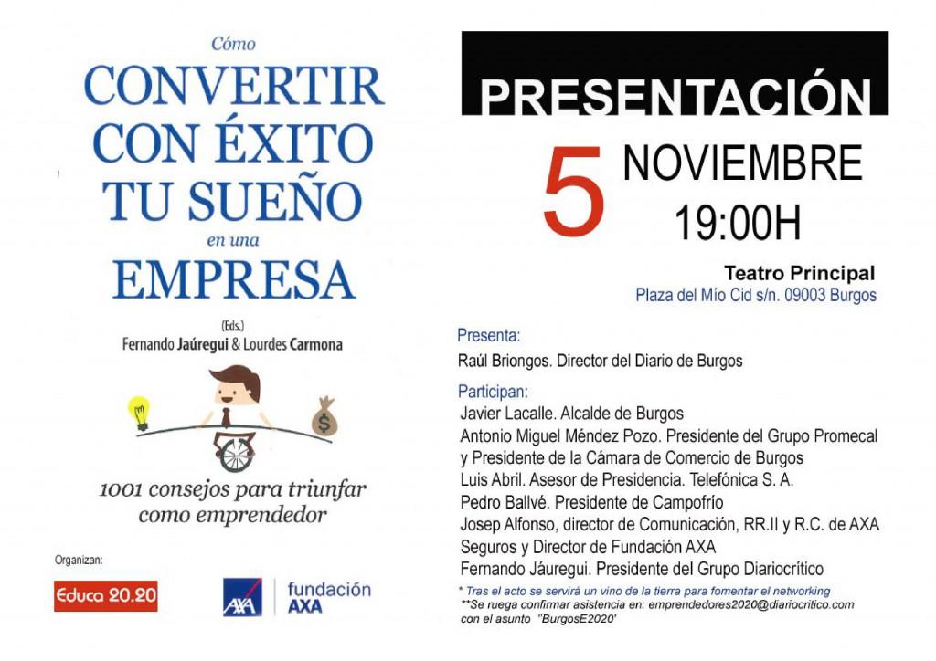 El Teatro Principal de Burgos se convierte en punto de encuentro de los jóvenes emprendedores