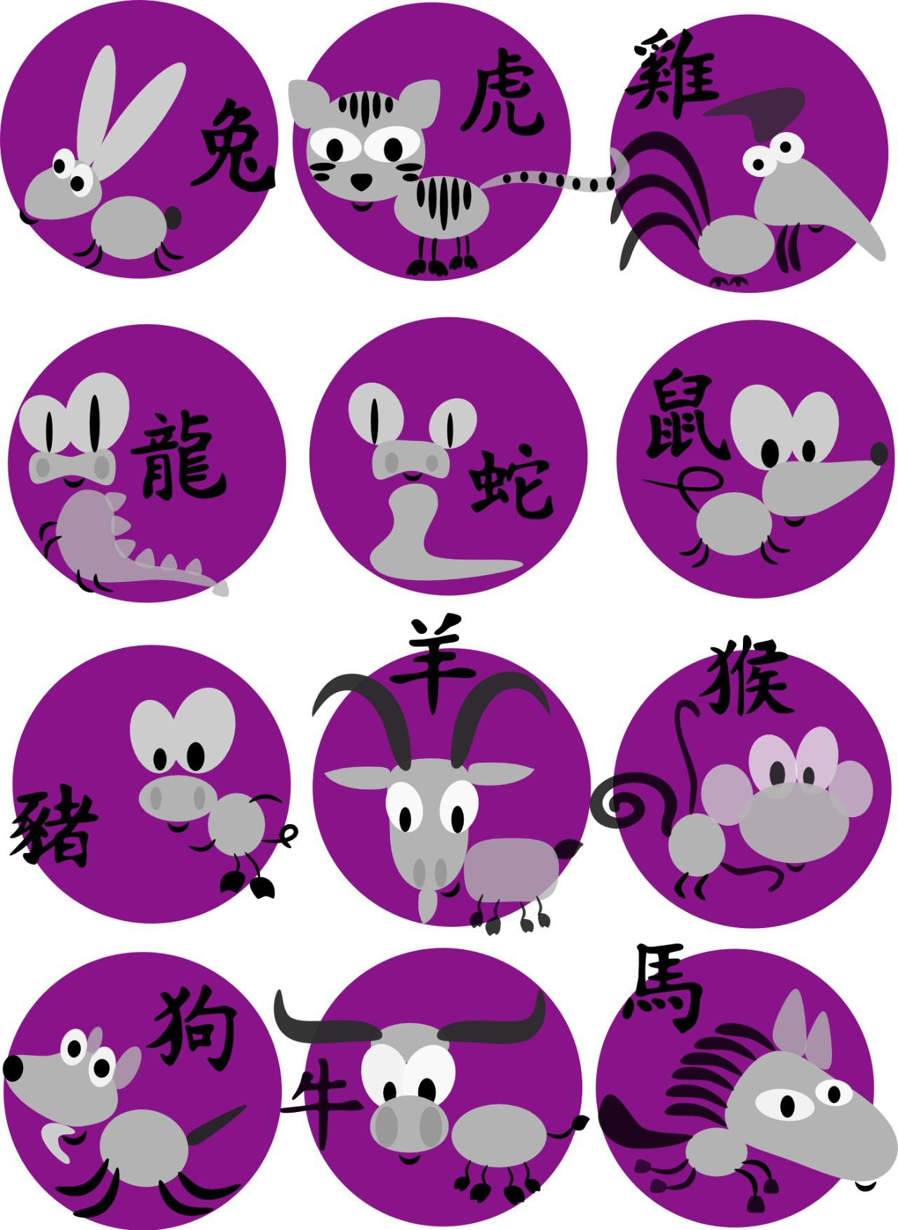 Calendario Chino.Horoscopo Chino Que Animal Eres Y Descubre Tus Predicciones